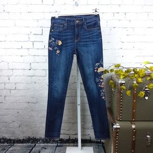 GUC Driftwood Jackie skinny jeans with embroidery